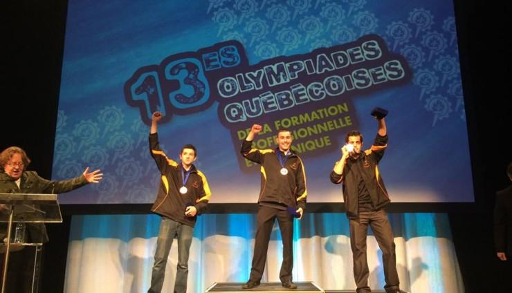 Michaël Daviau remporte la médaille d'or !