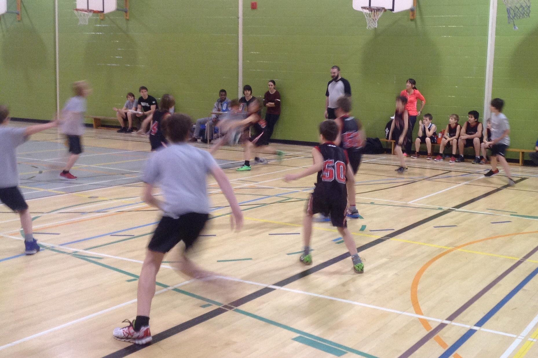 Le tournoi de mini-basket de la CSVDC fut un véritable succès!