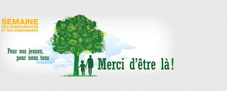 Semaine québécoise des enseignantes et enseignants