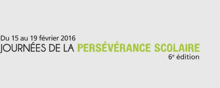 Journées de la persévérance scolaire