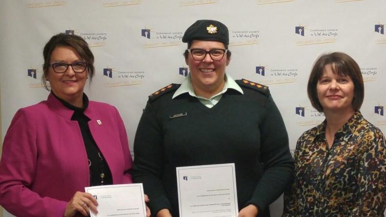 La CSVDC et les cadets de l'Armée : partenaires pour la réussite des jeunes