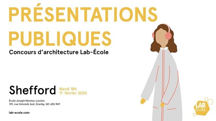 Venez découvrir les quatre concepts finalistes!