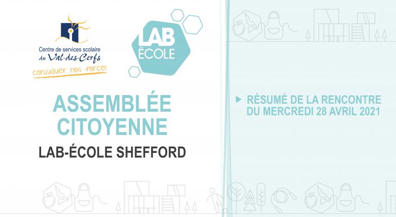 Troisième assemblée citoyenne du Lab-École Shefford