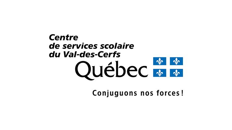 La nouvelle identité visuelle du Centre de services scolaire du Val-des-Cerfs
