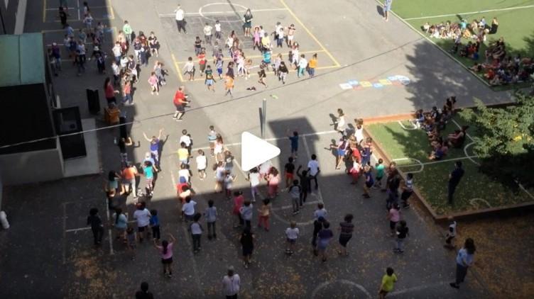 [VIDÉO] Nos élèves bougent et dansent lors des Journées de la culture
